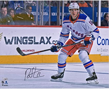 Ryan Strome New York Rangers Autographed 16