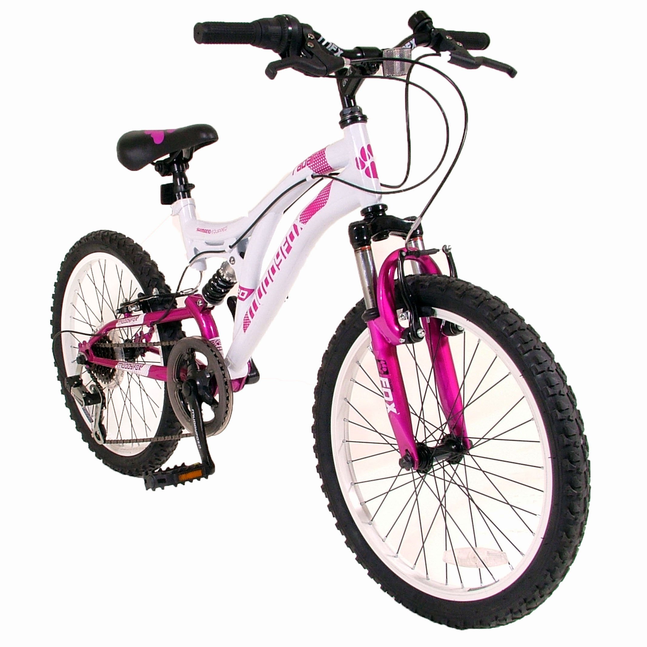 Boys Muddyfox Radar 20 Inch Wheels 13 Inch Frame Full Suspension Mountain Bike
