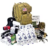 EVERLIT Complete 72 Hours for 2 People Earthquake Bug Out Bag Emergency Survival Kit. Be Prepared for Hurricanes, Floods, Tsu