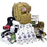 EVERLIT Complete 72 Hours for 2 People Earthquake Bug Out Bag Emergency Survival Kit. Be Prepared for Hurricanes, Floods…