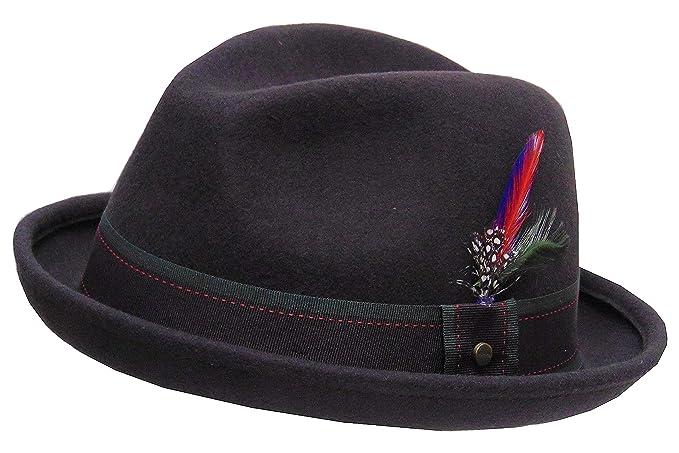 Stetson - Sombrero de Vestir - para Hombre Marrón 62 - Dunkelbraun XL   Amazon.es  Ropa y accesorios 11f67f76ae6