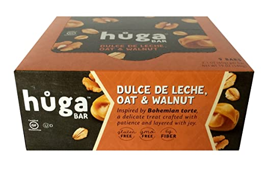 Huga Bar 9-pack (Chocolate & Hazelnut): Amazon.com: Grocery & Gourmet Food