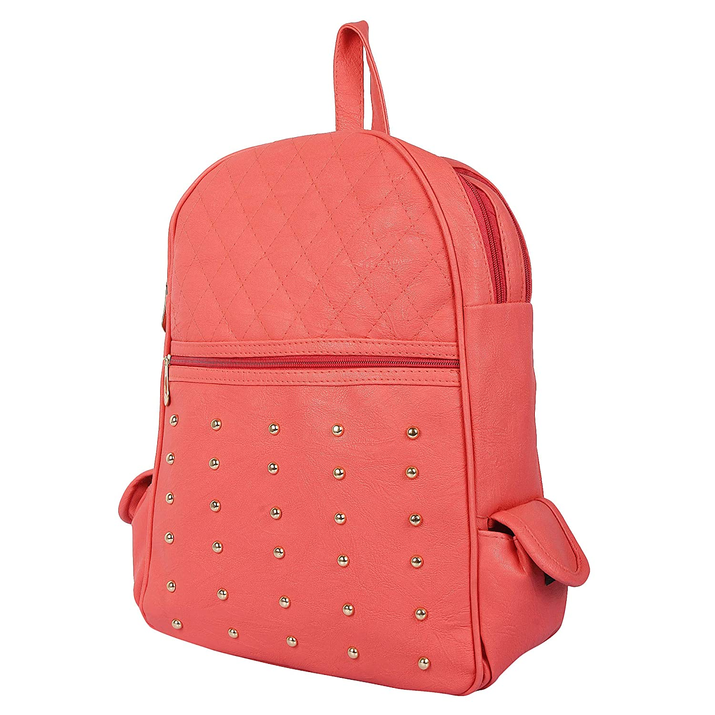 d415f9410560 Rajni Fashion Girls Peach Color (School Bag