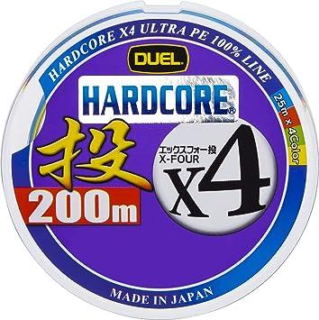デュエル(DUEL)PEラインハードコアX4投げ200mの画像