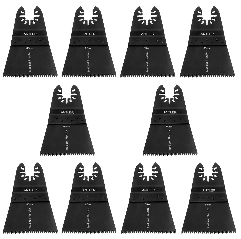 10x Antler 65mm Coarse Blades Dewalt Stanley Worx F30 Black & Decker Erbauer Oscillating Multitool Saxton