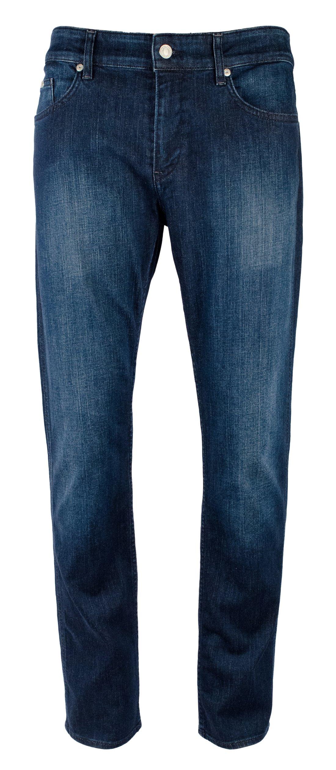 Hugo Boss Men's C-Delaware Slim Fit Jeans (Denim, 34 x 32)