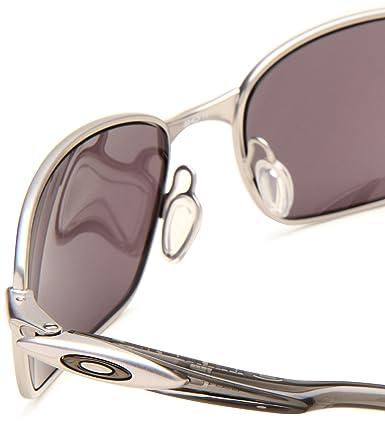 oakley mens blender sport non polarized sunglasses  amazon: oakley men's blender sport non polarized sunglasses,lead frame/warm grey lens,one size: oakley: clothing