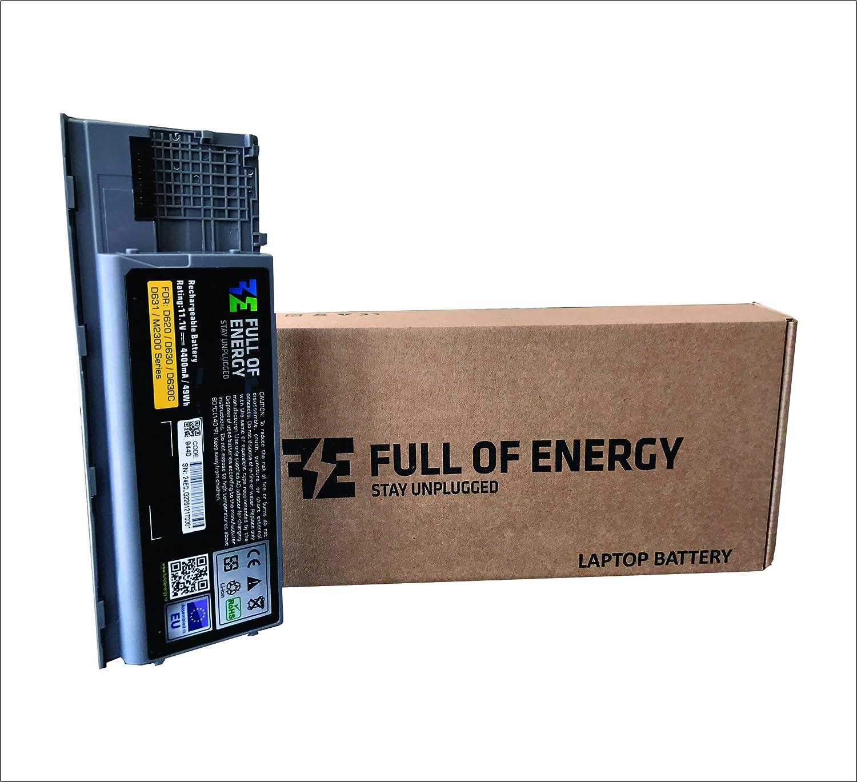 Full of Energy® Batería del ordenador portátil para Dell Latitude D620; D630; D630 C; D630 N; D631; D63 N; D830 N; M2300: Amazon.es: Informática