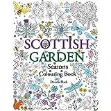 Scottish Garden Seasons: Colouring Book