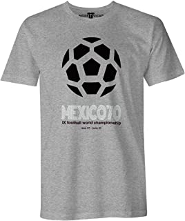 More T Vicar Mexico 70 - Hombres Football World Cup T Shirt
