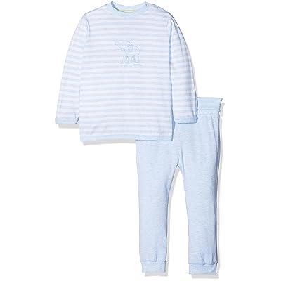 bc7413a23551d Sanetta Pyjama rayé éléphant pyjama bébé tenues de nuit bébé ...