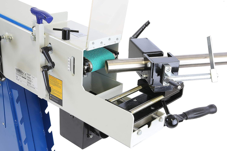 Pro-Lift-Werkzeuge Bandschleifer 3in1 mit Standfu/ß Universalschleifmaschine Rohrschleifmaschine 400V Kombi-Schleifmaschine Profilschleifen Ausklinken Planschleifen Schleifer Metall Werkstatt