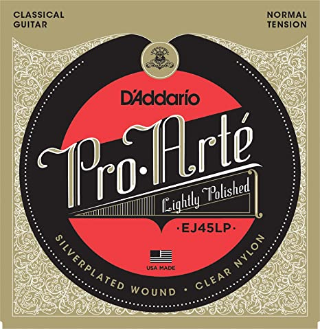 9eb77b4a9705 Image Unavailable. Image not available for. Color  D Addario EJ45LP Pro-Arte  Composite Classical Guitar Strings ...