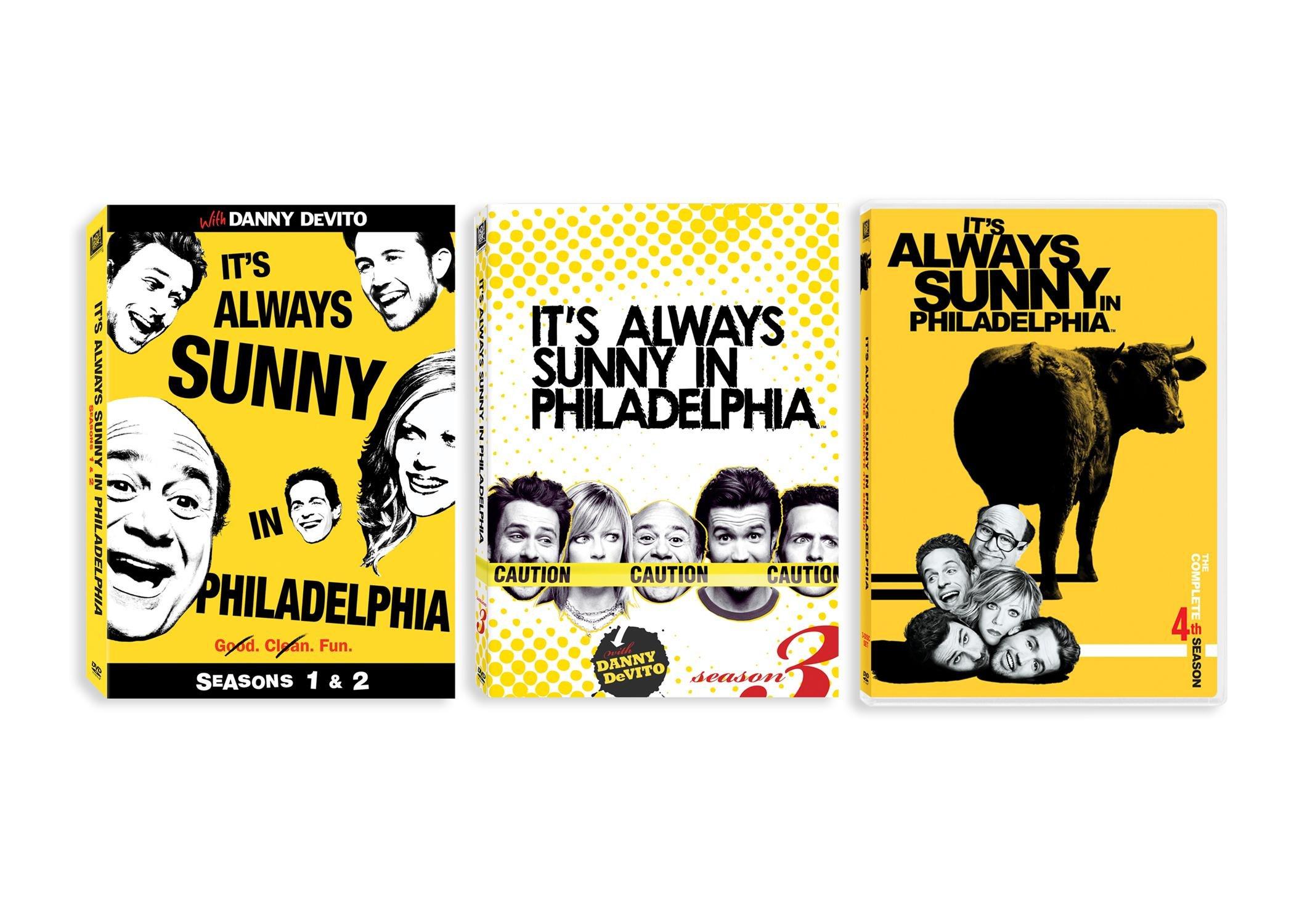 It's Always Sunny in Philadelphia: Seasons 1-4