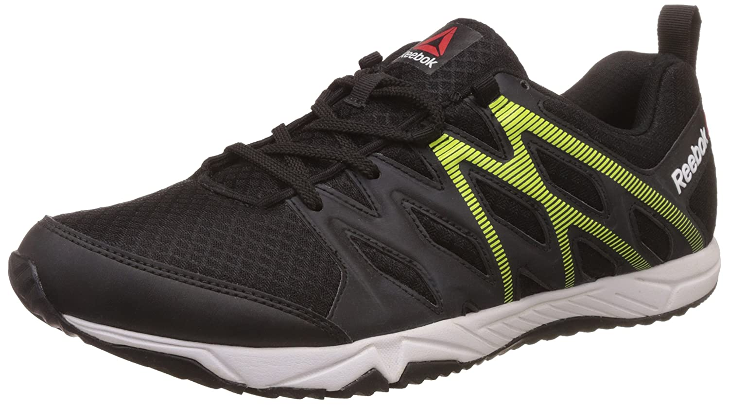 9707a6ccb8792c Reebok Men s Arcade Runner Black Running Shoes - 6 UK India (39 EU)(7 US)  (BS6763)  Buy Online at Low Prices in India - Amazon.in