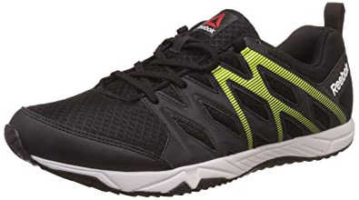 9e7159704d3 Reebok Men's Arcade Runner Black Running Shoes - 10 UK/India (44.5 EU)