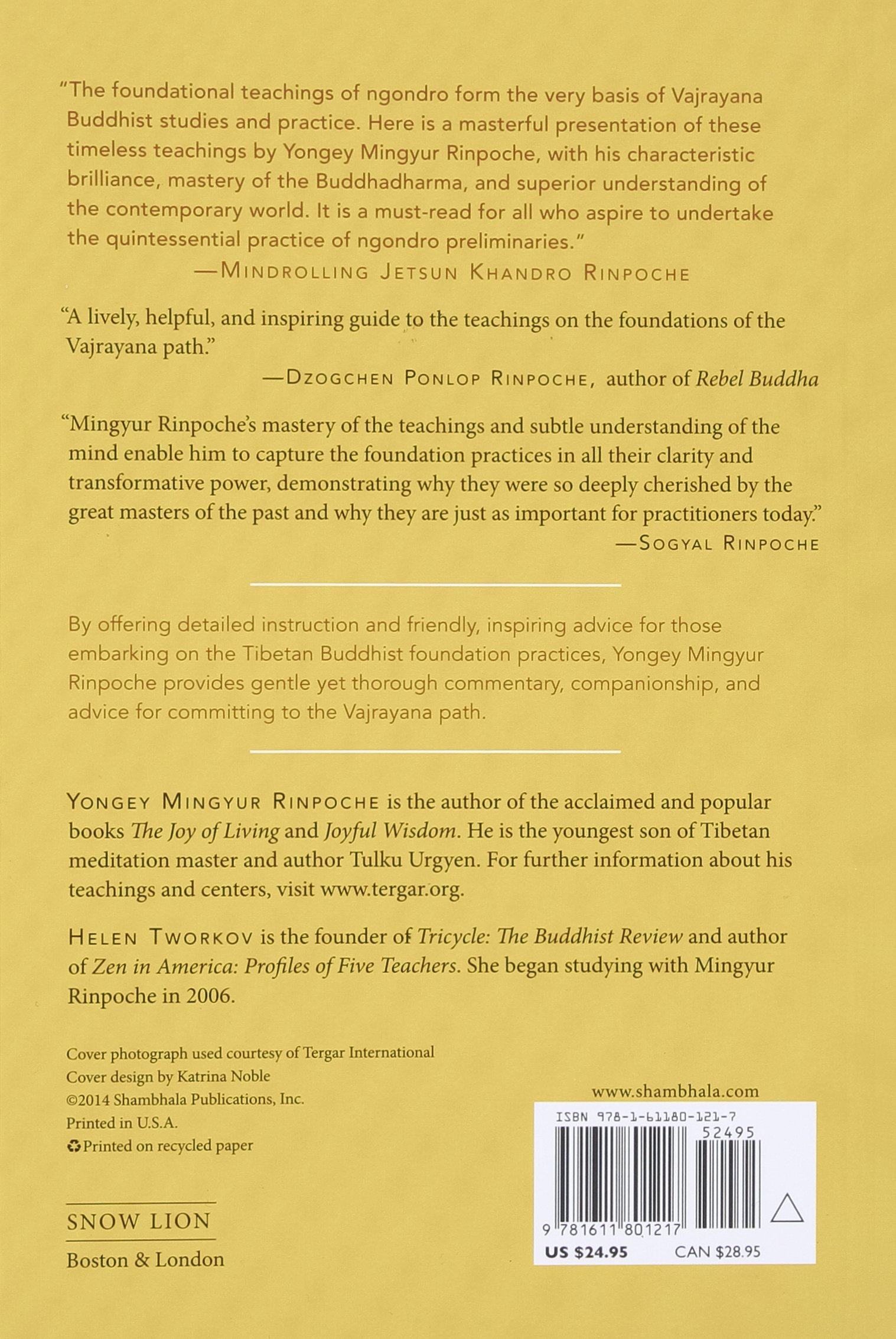 Amazon: Turning Confusion Into Clarity: A Guide To The Foundation  Practices Of Tibetan Buddhism (9781611801217): Yongey Mingyur, Helen  Tworkov,