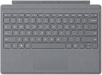 Microsoft Surface Pro Signature Type Cover Microsoft Cover port Platino teclado para móvil: Amazon.es: Electrónica