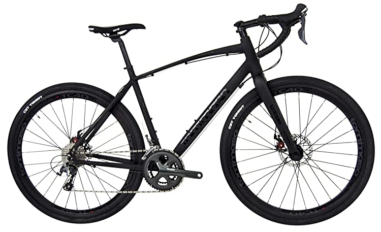 Tommaso Illimitate Shimano Tiagra Gravel Adventure Bike with Disc Brakes, Extra Wide Tires, and Carbon Fork, Perfect for Road Or Dirt Trail Touring