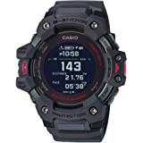 Casio Men's G-Shock Move, GPS + Heart Rate Running Watch, Quartz Solar Assisted Watch with Resin Strap, Gray, (Model: GBD-H10