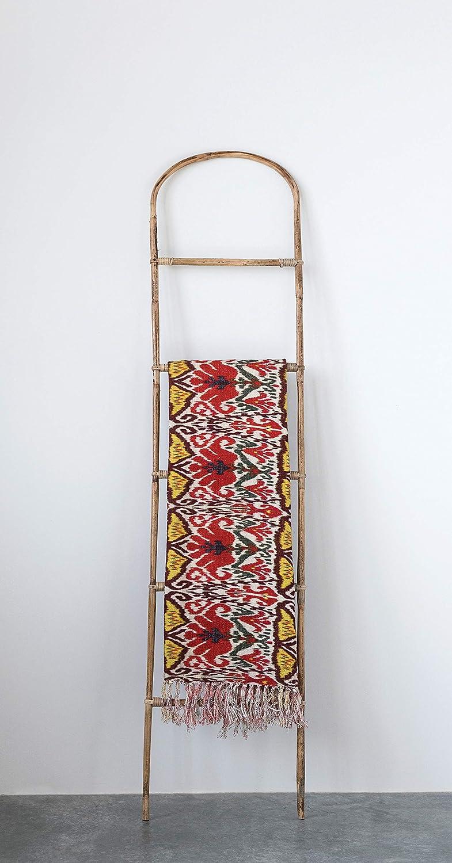 boho arched blanket ladder