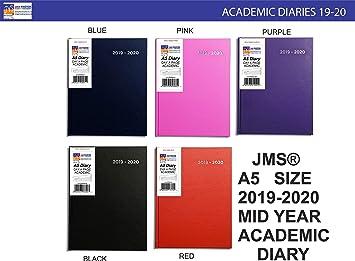 JMS® 2019-2020 - Agenda escolar (tamaño A5, año medio, tapa ...