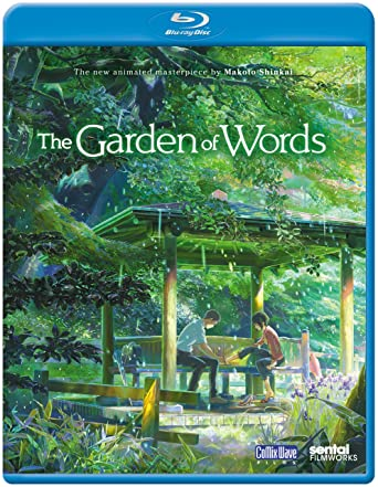 Amazon Com Garden Of Words Blu Ray Miyu Irino Kana Hanazawa