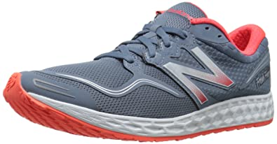 New Balance Men's M1980V1 Fresh Foam Zante Running Shoe, Grey/Red, ...