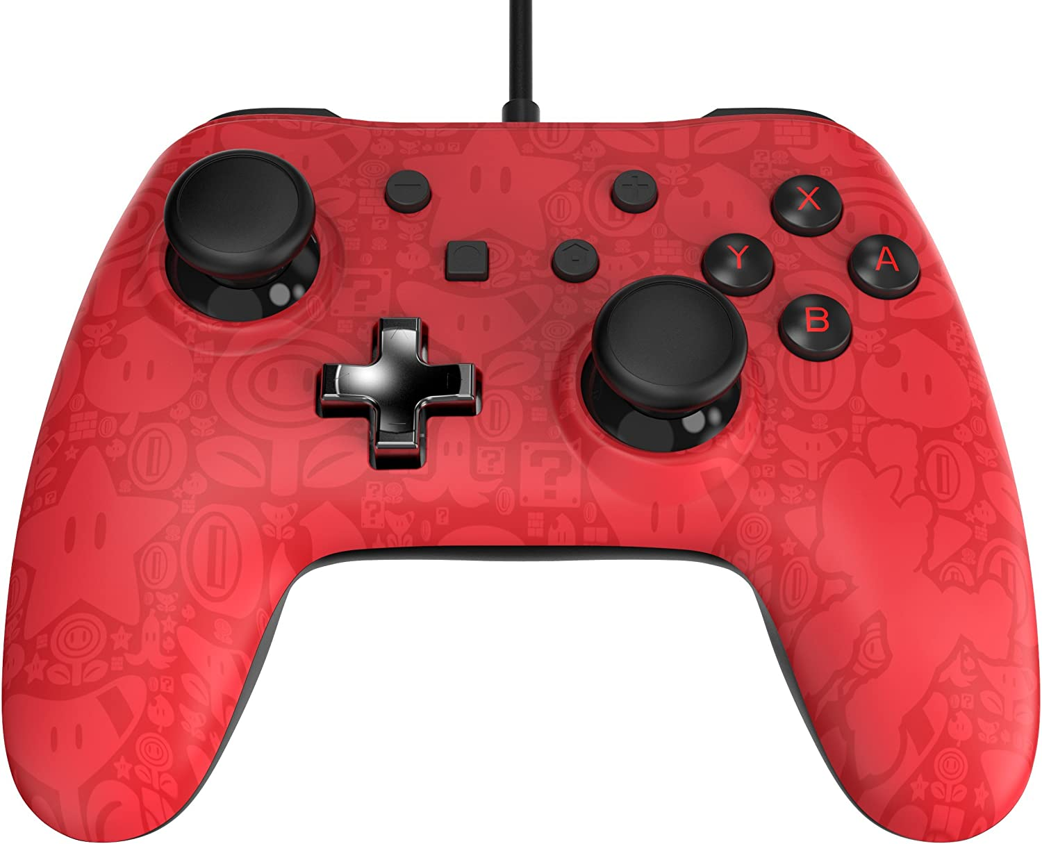 Power A - Core Plus Wired Controller, Mario (Nintendo Switch)