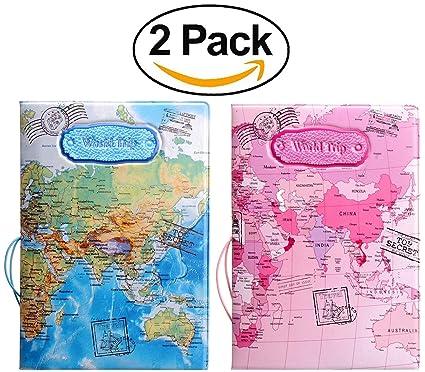 9f533726b Passport Holder Cover Case RFID Blocking Travel Wallet Passport Cover  Passport Wallet Cover passport Case Travel
