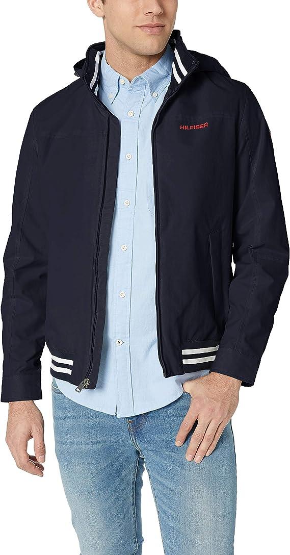 金盒特价 Tommy Hilfiger 汤米希尔费格 轻量防水男式夹克 4.9折$48.99 多色可选 海淘转运到手约¥367