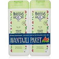 Le Petit Marseillais Organik Karpuz ve Fesleğen 400 mlx2 Duş Jeli 1 Paket (1 x 800 ml)