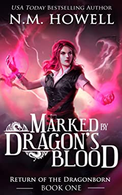 Marked by Dragon\'s Blood (Return of the Dragonborn Book 1)