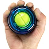 MDBuddy Gyro Ball, Powerball Wrist Strengthening Exercises Wrist Workouts LED Wrist Ball