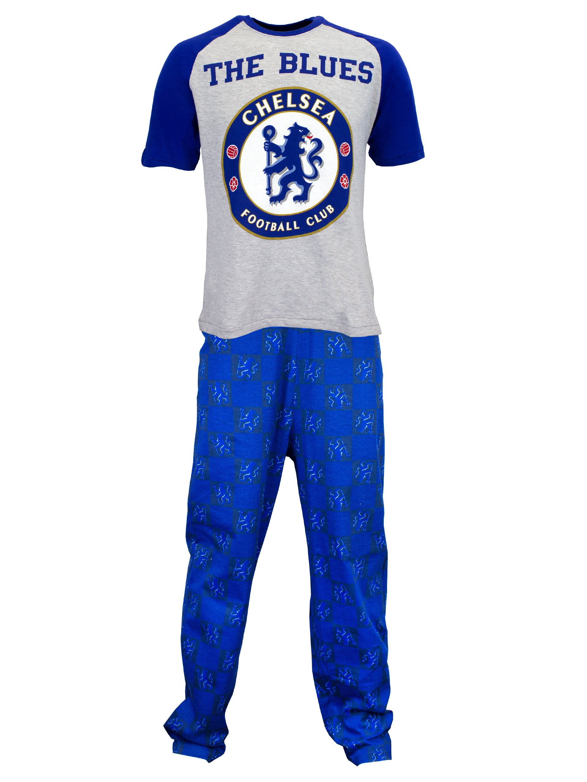 Chelsea Football Club Mens' Chelsea Pajamas Size X-Large