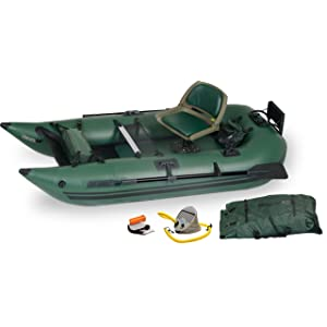 Sea Eagle 285 Inflatable Frameless Fishing Pontoon Boat