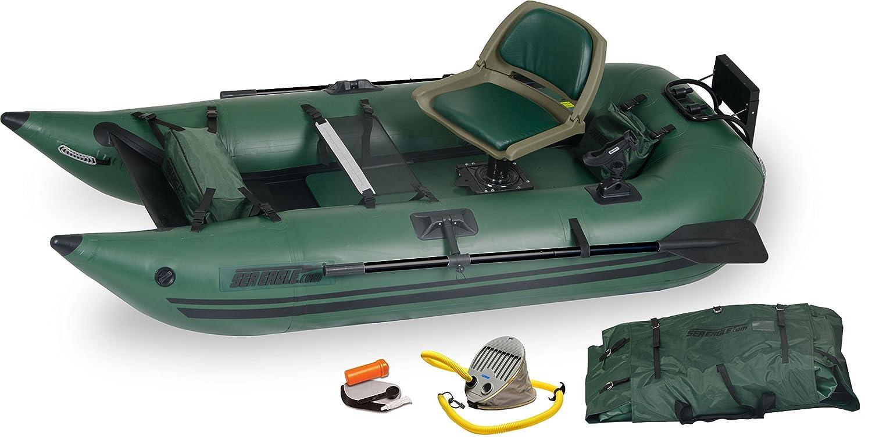 Sea Eagle 285 barco pontón de pesca hinchable sin marco – paquete ...
