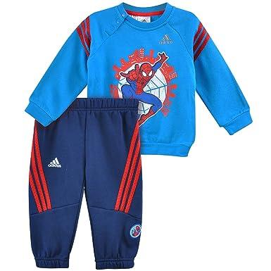 adidas + Disney Spiderman Kinder Kapuzenpullover Hoodie