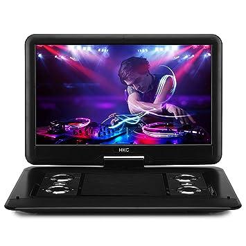 HKC Reproductor de DVD portátil D16HM01 de 15.6 Pulgadas ...