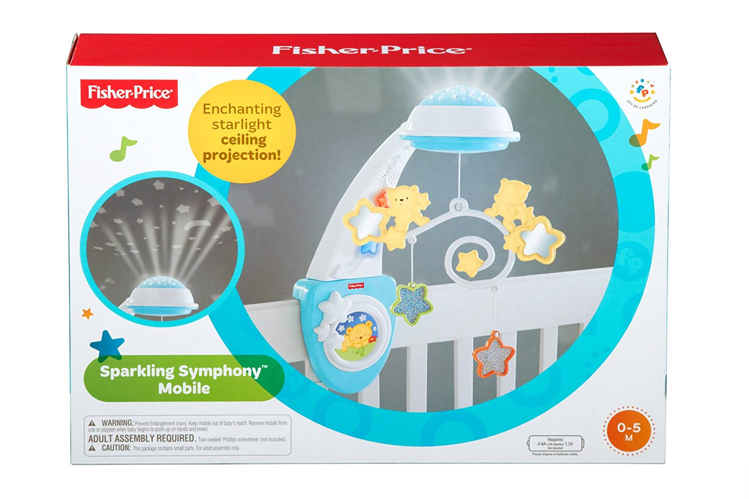 Fisher price starlight cot mobile amazon baby mozeypictures Choice Image