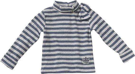 Geox - Camiseta multicolor de 98% algodón 2% elastano, talla: 80cm (12-18 meses): Amazon.es: Bebé