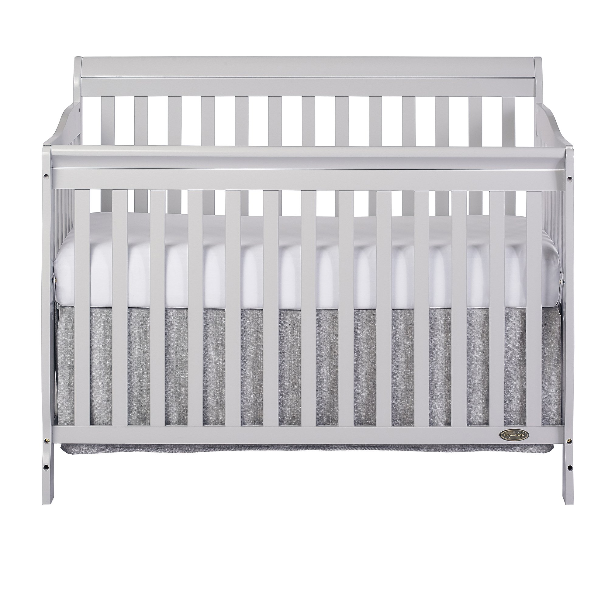 Dream On Me Ashton Convertible 5-in-1 Crib, Mystic Grey, 49 Pound