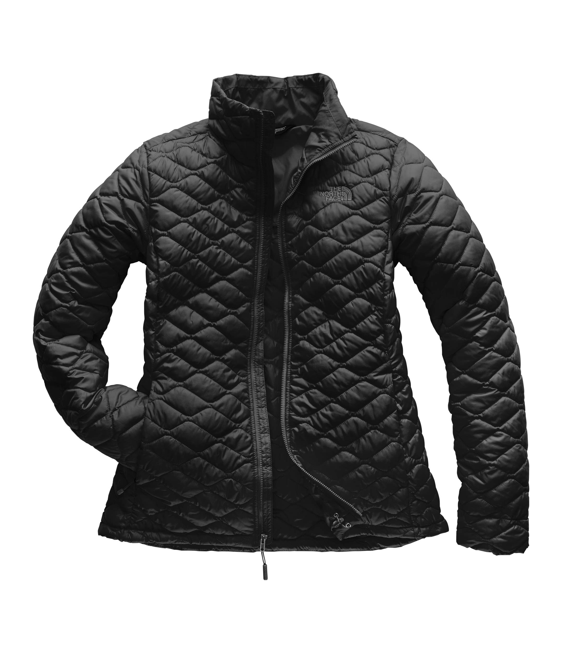 The North Face Women Thermoball Full Zip - TNF Black Matte - S by The North Face