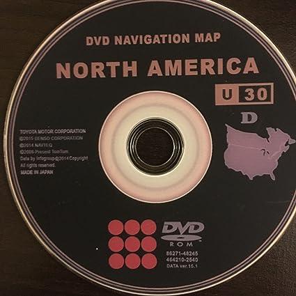 2016 Toyota & Lexus Navigation DVD v 15 1 Generation 4