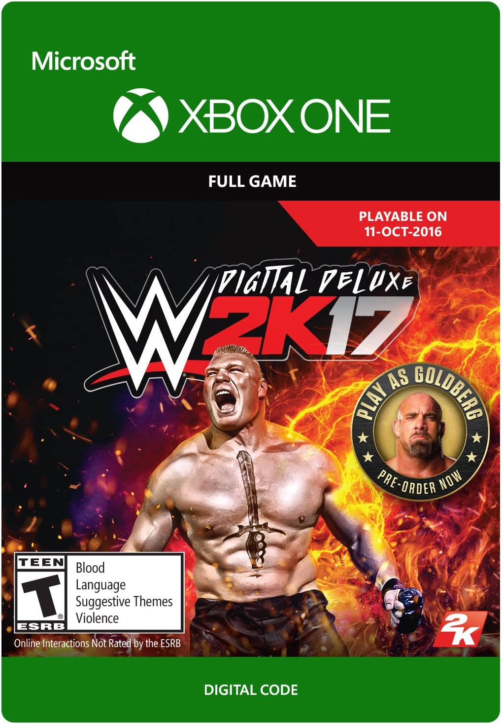 WWE 2K17: Digital Deluxe Edition - Xbox One Digital Code