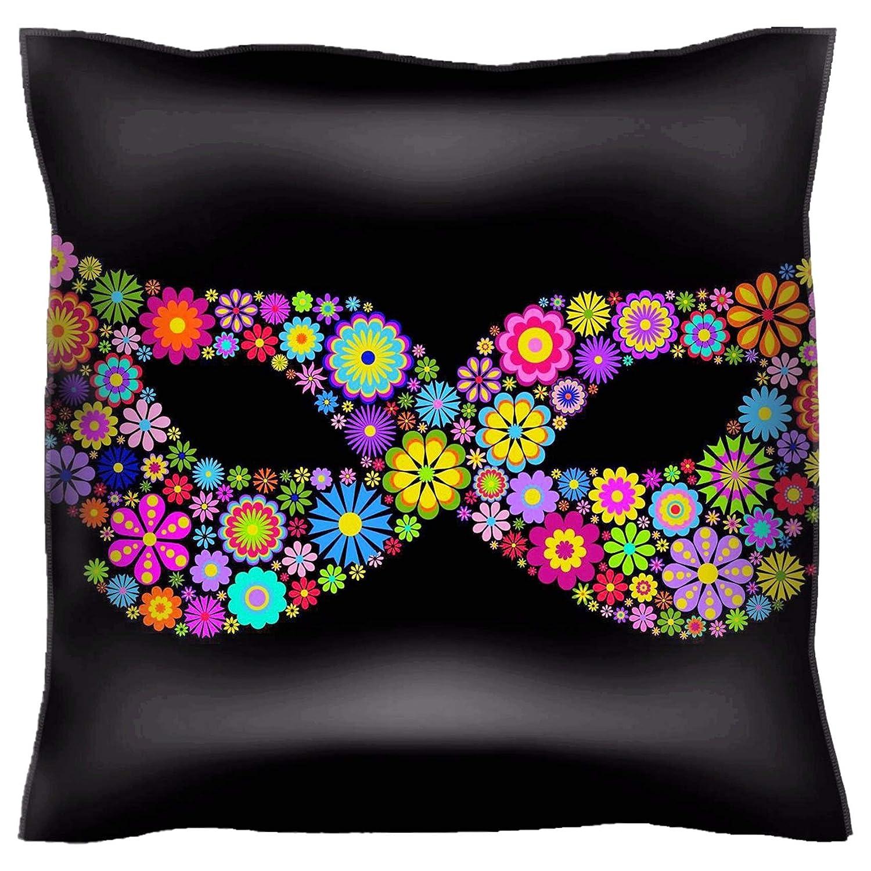 Amazon.com: Handmade 28X28 Throw Pillow case Polyester Satin ...