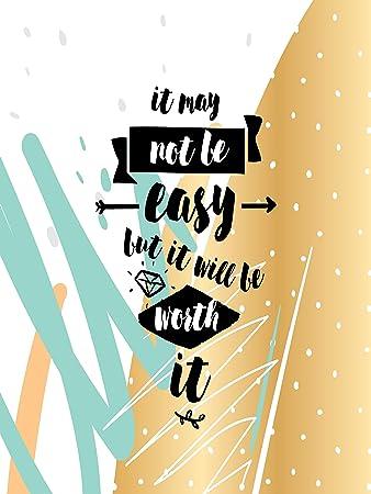 Amazon.com: Inspirational Motivational Happiness Quotes Decorative ...