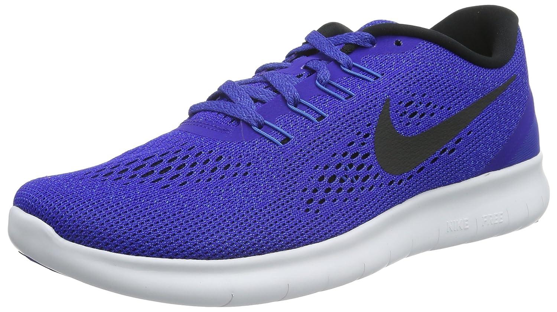 NIKE Men's Free RN Running Shoe B01DLOP6H8 8.5 D(M) US|Concord Black Hyper Cobalt 400