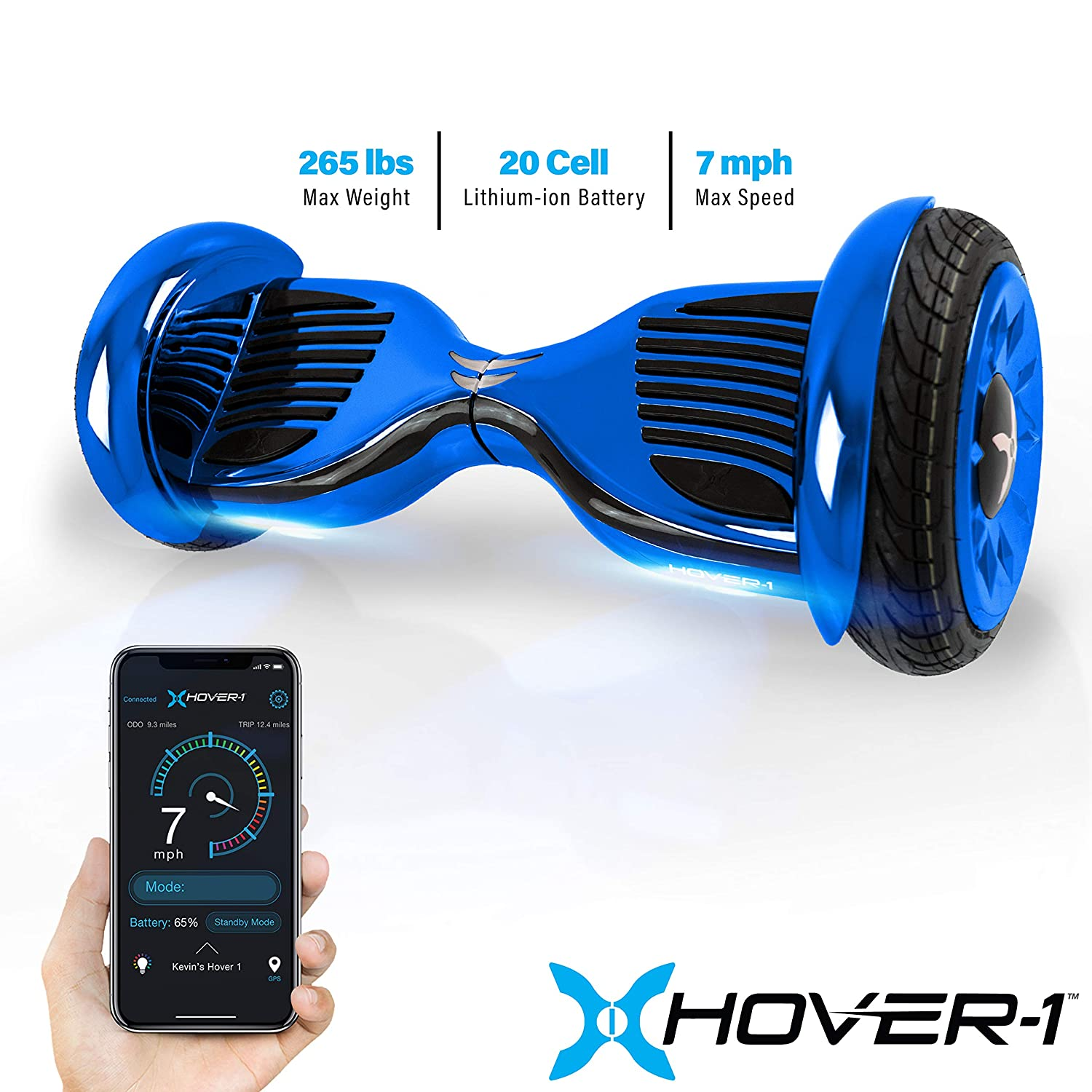 Amazon.com : HOVER-1 Titan All-Terrain Hoverboard Electric ...