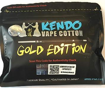 Kendo Vape De Algodón Gold Edition: Amazon.es: Salud y cuidado personal
